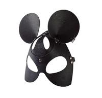 Маска Мышка с тиснением