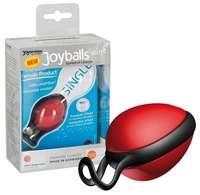 Joyballs secret single, Schwarz-Schwarz вагинальный шарик красный