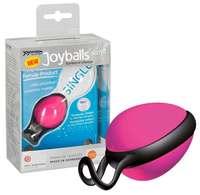 Joyballs secret single, Schwarz-Schwarz вагинальный шарик розовый