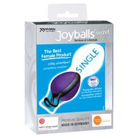 Joyballs secret single, Schwarz-Schwarz вагинальный шарик фиолетовый