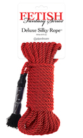 Deluxe Silky Rope веревка для фиксации красная