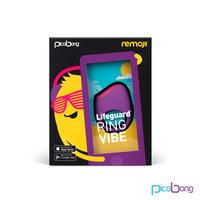 LIFEGUARD RING VIBE Фиолетовый Вибростимулятор со встроенным (несъемным) аккумулятором