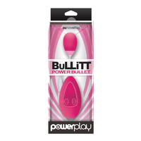 PowerPlay - BuLLiTT - Single - Pink Виброяйцо с пультом управления
