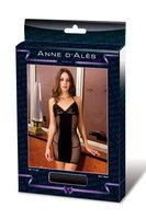 Платье черное с сеткой на боках и спине р-р XL DRESS DERNIER TANGO XL NOIR