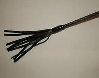 Стек плетеный (длиный), наконечник Кисточка-20см
