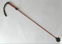 Стек плетеный (длиный), наконечник Крест красный лак