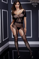 Кэтсьюит SHORT SLEEVE CROTCHLESS BODYSTOCKING