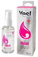 Гель-смазка силиконовый Yes - Heat, 50 мл
