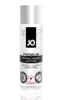 Классический возбуждающий лубрикант на силиконовой основе JO Premium Warming, 2 oz (60мл.)