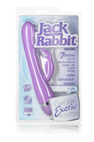 Перезаряжаемый вибромассажер ReCNargeable Triple Motor Jack Rabbit - Purple (NEW) фиолетовый