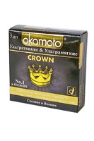 Презервативы Okamoto Crown № 3