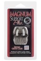 Насадка стимулирующая Magnum Support Plus ® Single Girth Cages черная