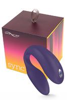 Электровибромассажер We-Vibe Sync  Purple-Фиолетовый, на радиоуправлении