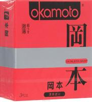 Презервативы Okamoto Skinless Skin Super Thin / Ультратонкие № 3