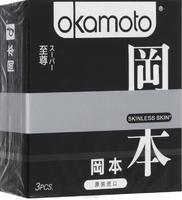 Презервативы Okamoto Skinless Skin Super / Супер № 3