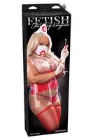 Костюм Nasty Nurse красный, Queen size