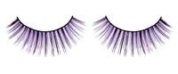 Ресницы чёрно-фиолетовые