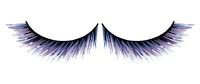 Ресницы сине-чёрные накладные Deluxe