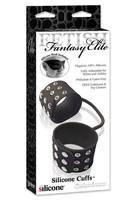 Фиксаторы Fetish Fantasy Elite силиконовые Silicone Cuffs для рук или ног черные