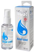 Гель-смазка силиконовый Yes - Anal cool, 50 мл
