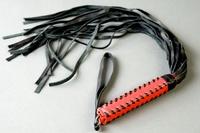 Флогер (ручка плетеная, красная оплетка)