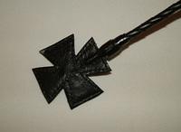 Стек плетеный (длиный), наконечник Крест