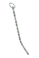 Изогнутая полая уретральная струна из металла
