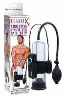 Помпа мужская Classix Vibrating Pump с вибрацией