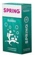 Презервативы SPRING™ Bubbles, 9 шт./уп. (с пупырышками)
