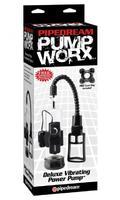 Pump Worx Deluxe Vibrating Power Pump - Black