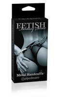 Наручники металл. Fetish Fantasy Series LTD Edition