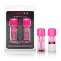 Помпы для сосков Nipple Play® Vacuum Twist Suckers розовые