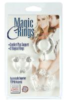 Набор эрекционных колец MAGIC C-RINGS - CLEAR