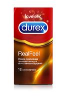 Презервативы Durex N12 Real Feel Для естественных ощущений