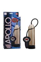 Автоматическая мужская помпа Apollo Automatic Power Pump серая