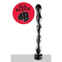 All Black - AB70 Анальная цепочка огромного размера