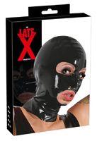 Маска на голову с отверстиями для рта и глаз из латекса Latex Mask
