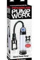 Ручная вакуумная помпа для мужчин с насосом Digital Power Pump