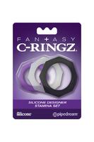 Эрекционное кольцо Fantasy C-Ringz Silicone Designer Stamina Set