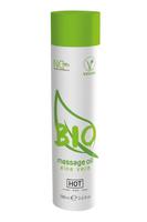 Массажное масло HOT BIO Massage oil aloe vera 100 мл.
