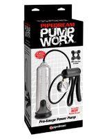 Вакуумная мужская помпа с датчиком давления Pump Worx Pro-Gauge Power Pump