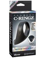 Fantasy C-Ringz Silicone Taint-Alizer - Black