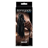 Плетка Renegade Bondage - Whip - Black