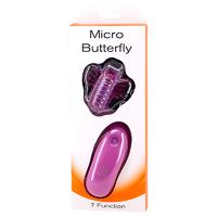 Вибромассажер-бабочка на пульте MICRO BUTTERFLY