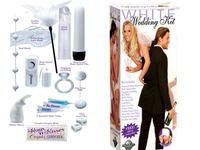 Набор для невесты (вибростимуляторы+насадка, шарики анал+вагин,вибр.пуля,кольцо,маска)
