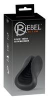 Компактный силиконовый вибромастурбатор Masturbator by Rebel