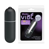 Baile Mini Vibe Черная компактная вибропуля